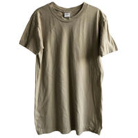 【U.S.made /Campbellsville Apparel】US military combed cotton T-shirts  -M / sand-  (om-216-59)
