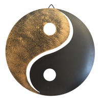 metal yin&yang ornament (go007)