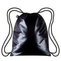 """LOQI"" Metallic black backpack (BP.ME.BL)"