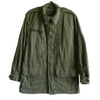 "【 1971 vintage / France army】Scecam  Paris ""M-64"" field jacket -olive green / 92C- (om-10-3B)"