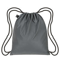 """""""LOQI """" reflective silver  backpack (BP.RE.SI)"""