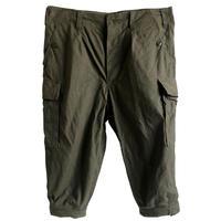 "【 1989's vintage / German army】""BW""moleskin knickers cargo pants -olive green / W92cm- (q-003F)"
