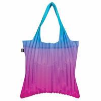 """""""LOQI """" pleated """"Rainbow Blue"""" bag (PL.RB)"""