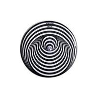 """【u.s.made】""""Vertigo label"""" monotone badge -Φ32mm- (nb-012)"""