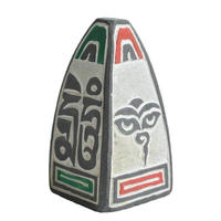 """mani stone stupa"" incense holder (si001b)"