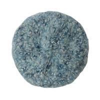 【vintage / Italy made 】handmade mohair beret / tam  -sax × blue mix- (om-10-9-26)