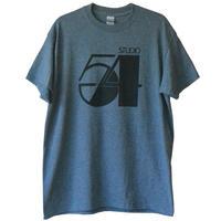 """""""studio 54"""" T shirt -dark heather gray / M & L & XL.3 size- (luz.54.t.dh)"""