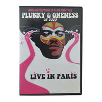 【Used DVD / France】Plunky & Oneness of Juju African Rhythms / Live in Paris