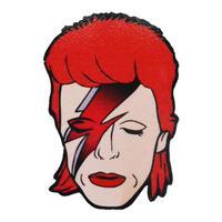 """David Bowie /  Aladdin Sane""  badge (ar-030)"