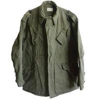 【50's vintage / Dutch military】 field jacket -olive green / L size相当 - (om-10-8B)