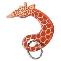restock!【Kaki Design】Animal key ring / Kenia Hand Made -Giraffe/キリン- (AS-16E)