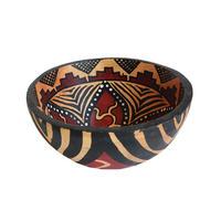 """zimbabwe"" hand made gourd bowl -medium-  (zbm001)"