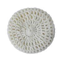 """【vintage / Germany】""""handarbeit"""" knit beret / tam  -natural- (om-11-5-21)"""