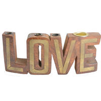 """70's antique """"LOVE"""" object"""