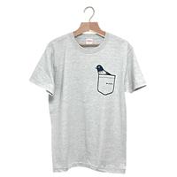 鳩ポッケTシャツ