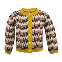 cardigan/marbled feathers/4-7y