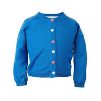 classic cardigan/royal blue/4-7y