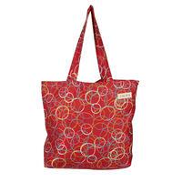 tencel shopper/atomic/raspberry
