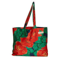 cotton shopper/camellia/red