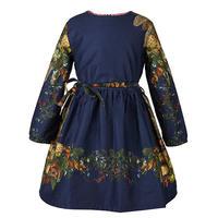 margaret/blue floral/7-10y