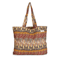 tencel shopper/ruffled feathers