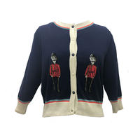 classic cardigan/london soldier/navy