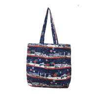 cotton shopper/london row/navy