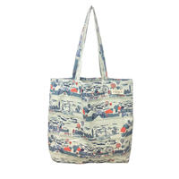 cotton shopper/london row/beige