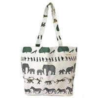 cotton shopper/walking in the zoo/ivory