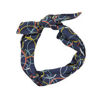 tencel hair tie/atomic/blue