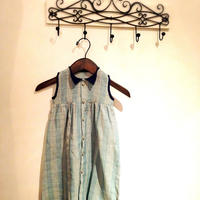 バングラデシュ伝統の手織りカディ綿で作られたシャツドレス