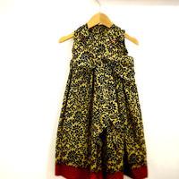 世界でたった1点のみ、バングラデシュ伝統衣装の生地を使ったリボンドレス