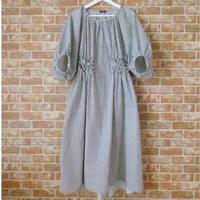 LYS -fantasia for your dress- Marie Dress stripe [black]
