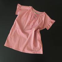 【期間限定・受注生産】LYS blast (kids) stripe tunic dress [red]