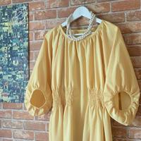 【オーダー・受注生産】LYS -fantasia for your dress- Marie ドレス [cream yellow]