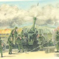 ポストカード FH-70榴弾砲