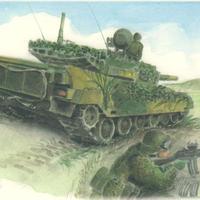 ポストカード 90式戦車