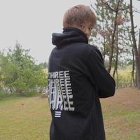 Collage Hoodie THREE × Kosuke Kawamura