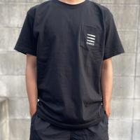 THREE×Kosuke kawarura Pocket Tee(black)
