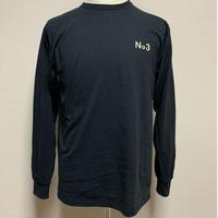 THREE  No. long sleeve  T-shirt  Black