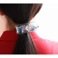 紫陽花マルチのヘアゴム 幅2.5cm     -暮らしの中に花々を-