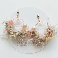 macarocaron #472 / Knit cotton pearl Beige
