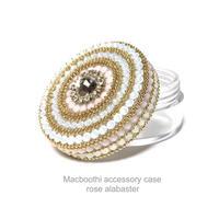 Macboothi accessory case /  rose alabaster