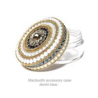 Macboothi accessory case /  denim blue