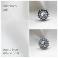 Macbooth petit / 5.denim blue 6.airblue opal