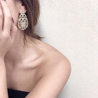 classical gold pierce&earring※2点のみ