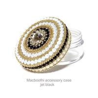Macboothi accessory case /  jet black