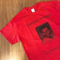 "TOWA TEI × PEHLWANS[五木田智央]KANTARO HOSHINO""Technova""Tシャツ _ RED"