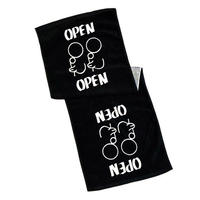 OPEN LOGO TOWEL
