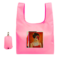 TOMOO GOKITA COLLAGE PINK FOR TT ECOBAG